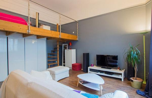 Soppalco Studio 45m2 a Luxembourg-Belair