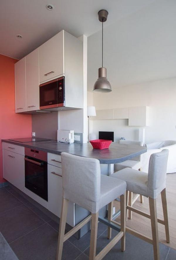 T2 modern furnished with 1Bedroom, (Etterbeek) Brussels