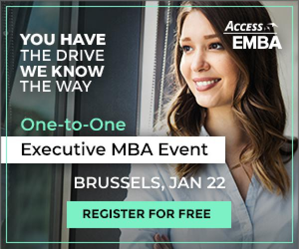 An Exclusive Executive MBA event in Brussels!