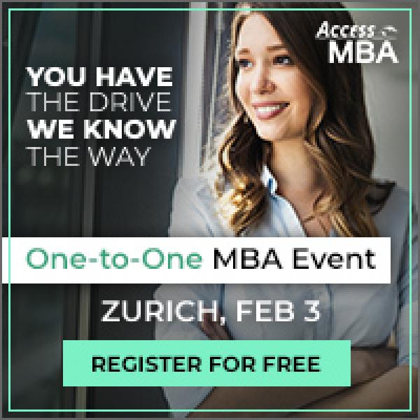 Exclusive MBA Event in Zurich
