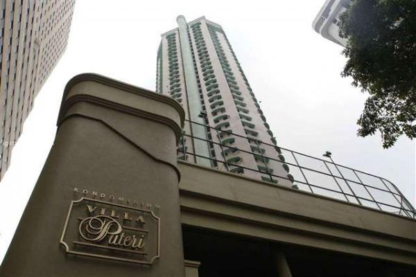 Peu d'appartements à louer @ Villa Puteri, PWTC