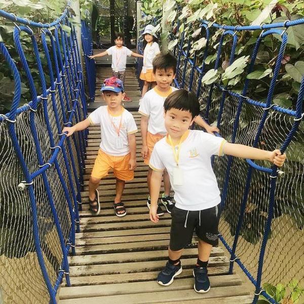 Scuola di apprendimento all'aperto e avventura Singapore