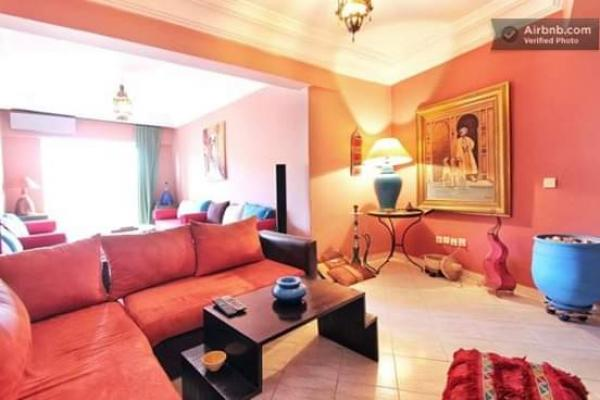 Rent furnished apartment in Casablanca Morocco