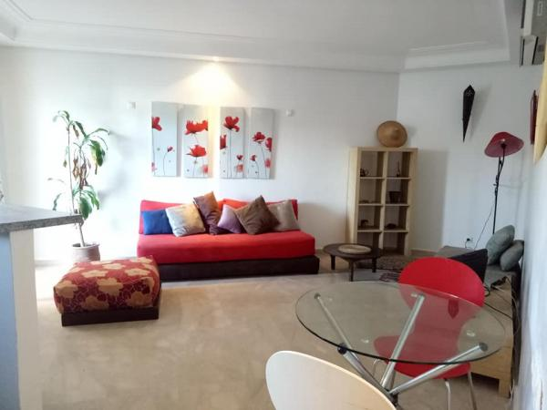 Furnished studio 54 m² Maarif Sokrate