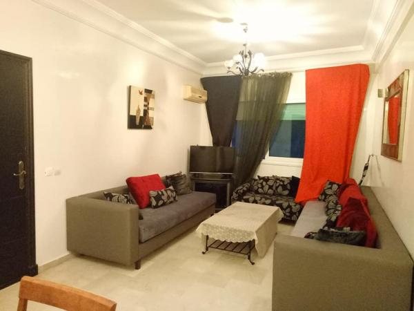 Appartement meublé 85 m² Maarif Extention