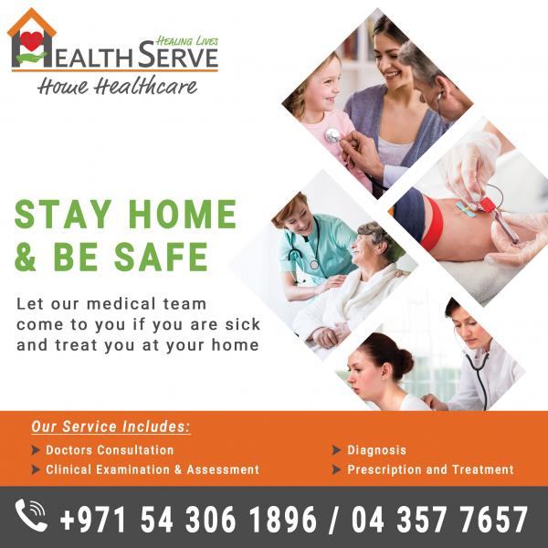 STAY HOME & BE SAFE: DOCTOR ON CALL