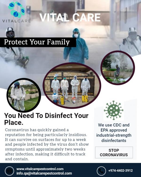 Services de désinfection
