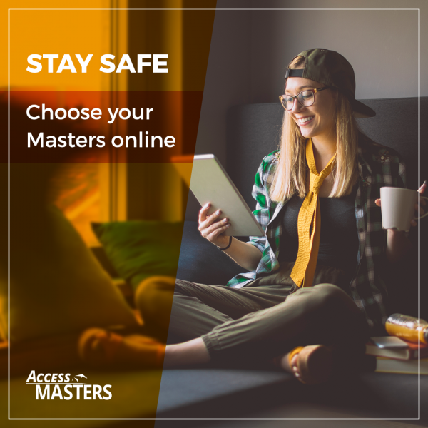 Stay home and meet online top international Masters programmes