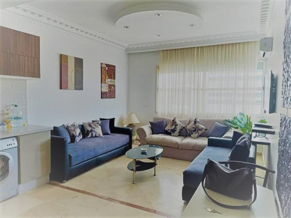 Luxury furnished studio 54 m² Gauthier 6500 Dh