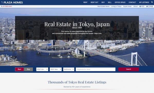 Location d'appartements à Tokyo