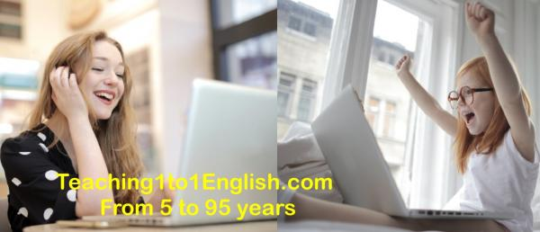 Learn English online at home