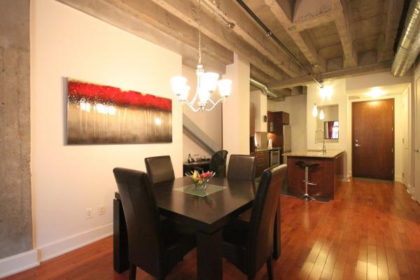 Zentrum von Montreal - Luxus möblierte und ausgestattete Wohnung - 1 S