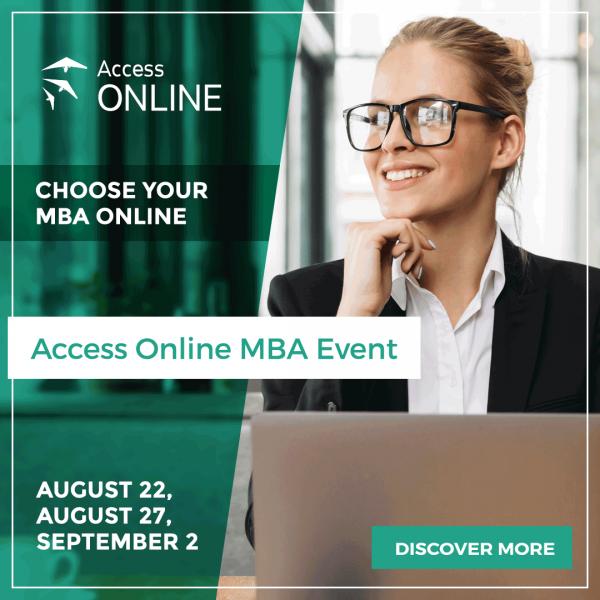Entdecken Sie mit Access Online eine Welt voller MBA-Möglichkeiten