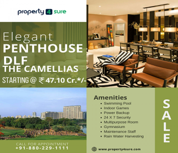 DLF De camelia's te koop op Golf Course Road Gurugram