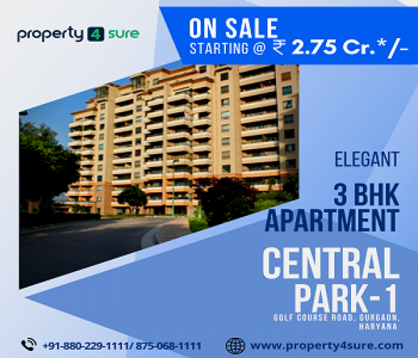 Central Park 1 for Sale in Gurugram | 3 BHK Apartments in Gurugram