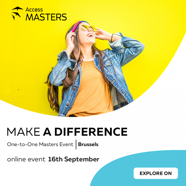 The world of Master's degree opportunities at your doorstep on 16 Sept
