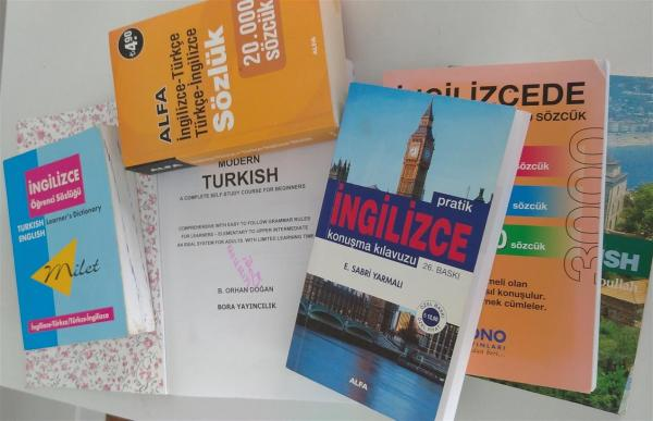 Donating books to learn Turkish