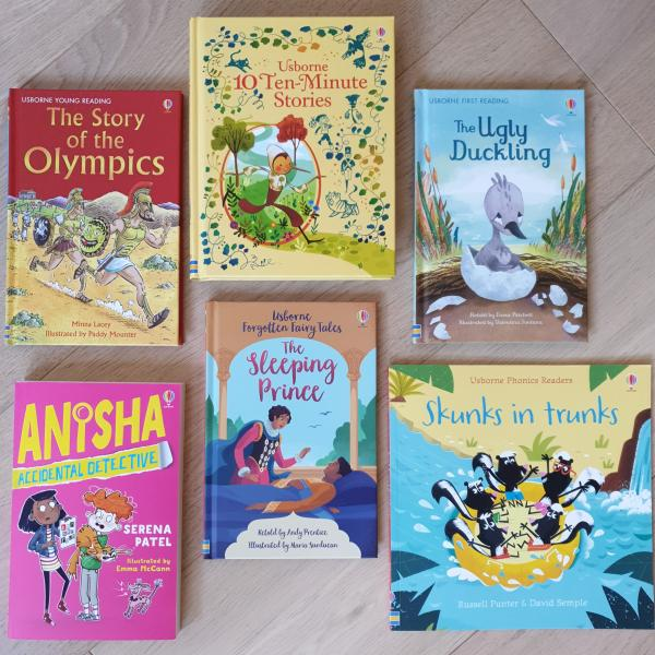 Usborne Books at Home -  English books for your children