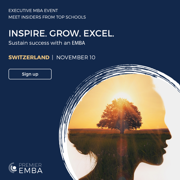 Move Your Leadership Forward with the Executive MBA