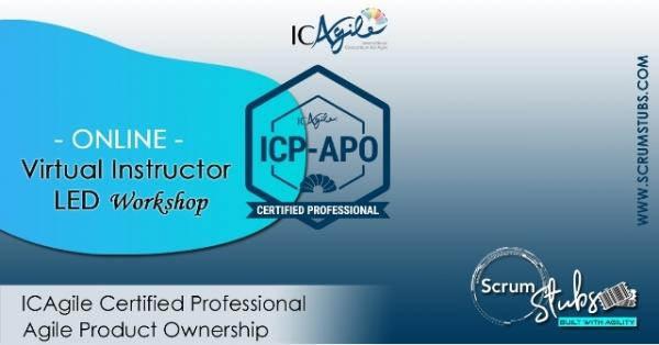 ICP  APO | Virtual | workshop | Scrumstubs