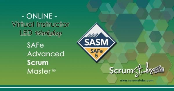 SAFe | Virtual Instructor Led Workshop | Scrum Stubs |
