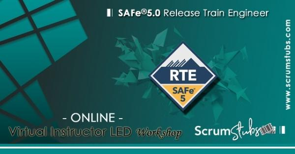 Release Train Engineer | SAFe 5.0 | Virtual Instructor Led Workshop |