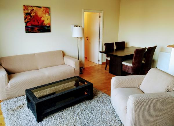 ETTERBEEK, schön eingerichtete Wohnung vor dem Cinquantenaire Park