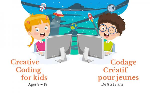 Creative Coding for kids (Age 8 - 18)