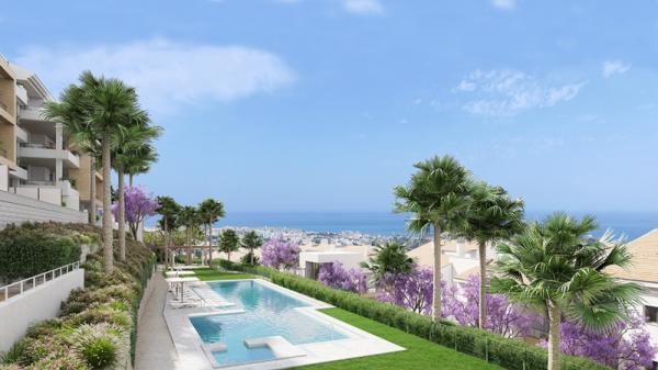 Benalmadena – Nouvelle promotion appartements magnifiques vues sur mer