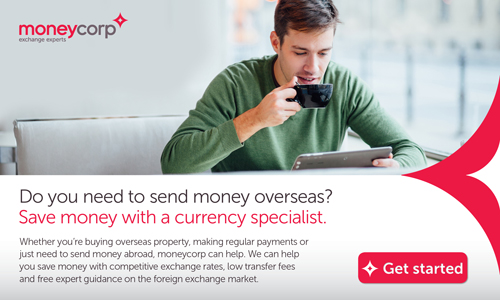 Moneycorp - International Payments account