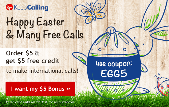 Keepcalling - Best rates for international calls