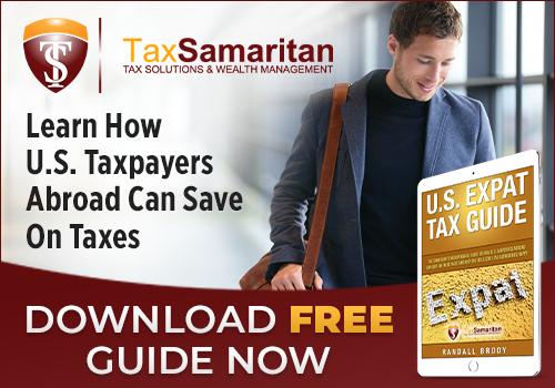 Tax Samaritan: Get the FREE Expat Tax Guide