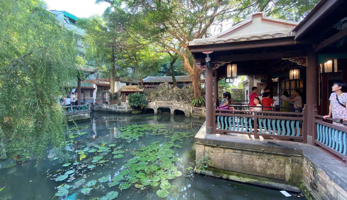 The Lin Family Mansion and Garden pond - Credit: Taiwanna Travel
