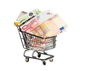Trolley of cash