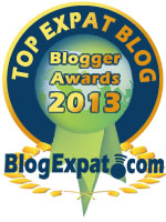 Top Expat Blog Award 2013